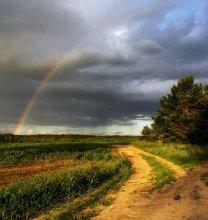 Rainbow evening .... / ***