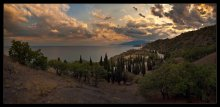 Sunset extravaganza Crimea ... / ***