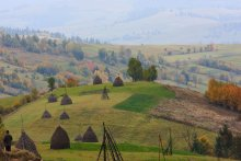 Carpathian Mountains - October / ***