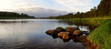 morning on the Dvina River ... / ***
