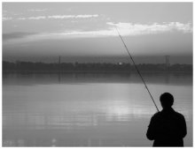 Fishing at dawn on number 1 / ***