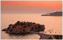 Sveti Stefan sunset / ***