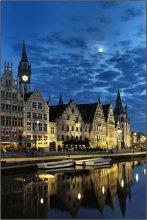 Gent / The city of Gent in Flanders/Belgium.