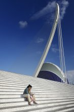 Focused / City of Arts and Sciences in Valencia/Spain