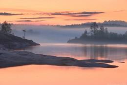 Sunrise on Lake Ladoga / ***