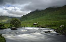 Bundoragha River / The Bundoragha river near Delphi in Mayo / Ireland...a wonderful place!
