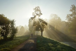 One autumn morning ... / ***