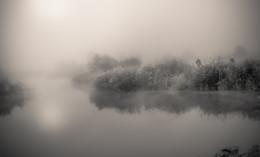 On the lake. / ***