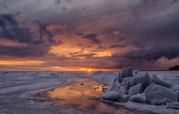 Ice drift. / ***