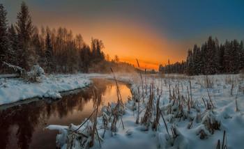 January evening / ***