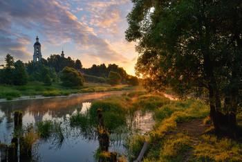 Dawn in Philippovsky / ***
