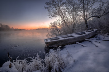 In the frosty mist / ***