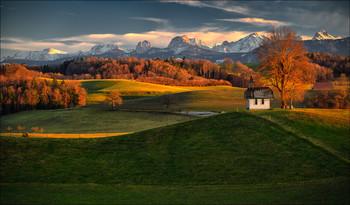 Maria Kapelle / Kanton Fribourg, Schweiz