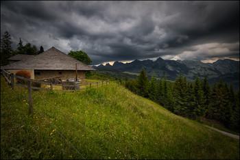/ Bergregen