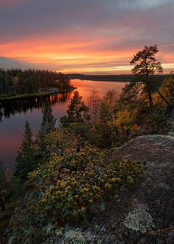 Evening on Ladoga / ***